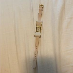 Kate spade saffiano leather bow watch